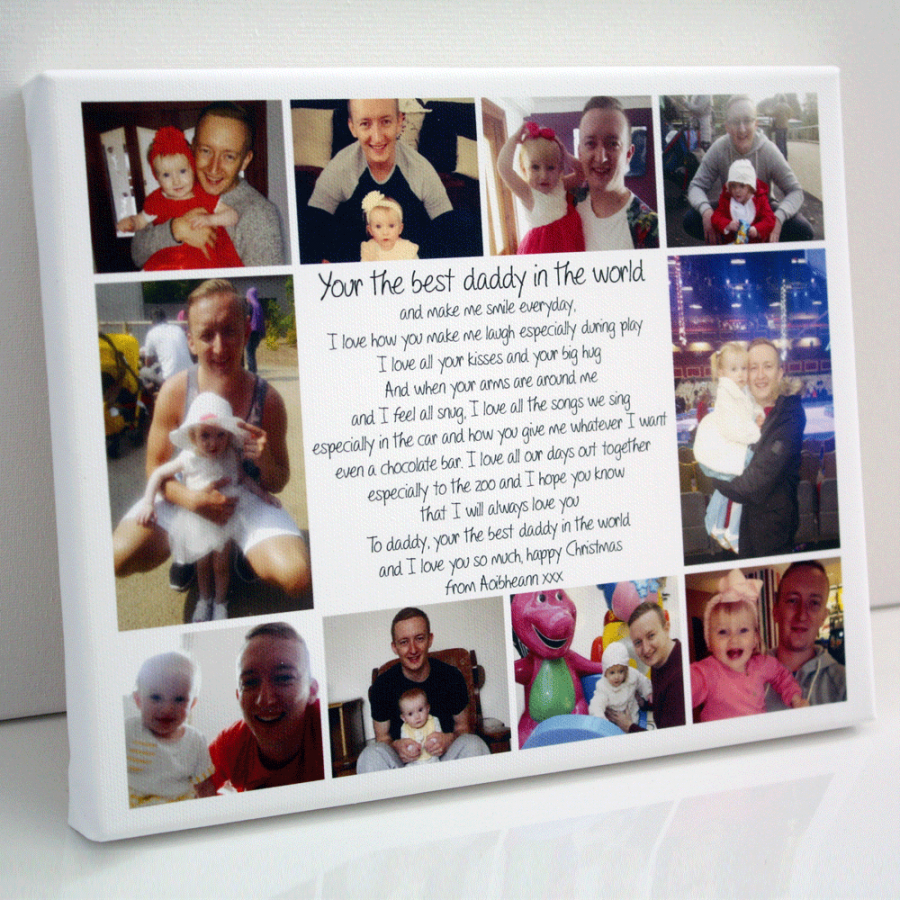 Personalised Photo Gift Collage