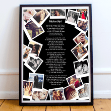 Load image into Gallery viewer, Personalised Anniversary Polaroid Style Collage