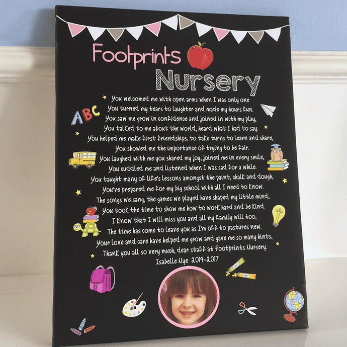 Personalised Gift For Nursery Teachers