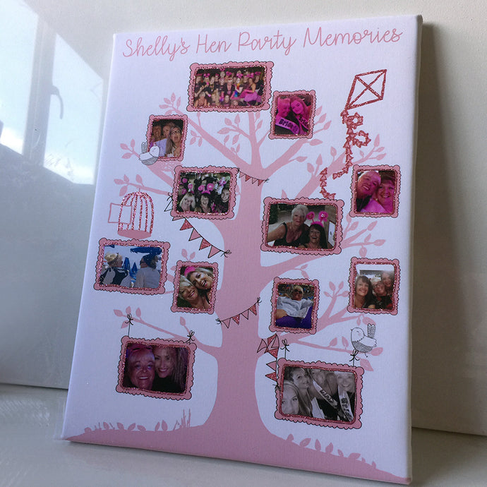 Hen Night Keepsake Tree