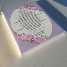Load image into Gallery viewer, Personalised Mothers Day Circle Design Poem