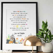 Load image into Gallery viewer, Magical Themed Wizards Gifts Love Poem