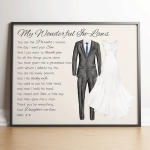 Wonderful In Laws Wedding Poem