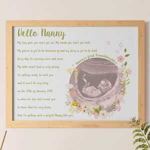 Baby Announcement Idea For First Time Nan