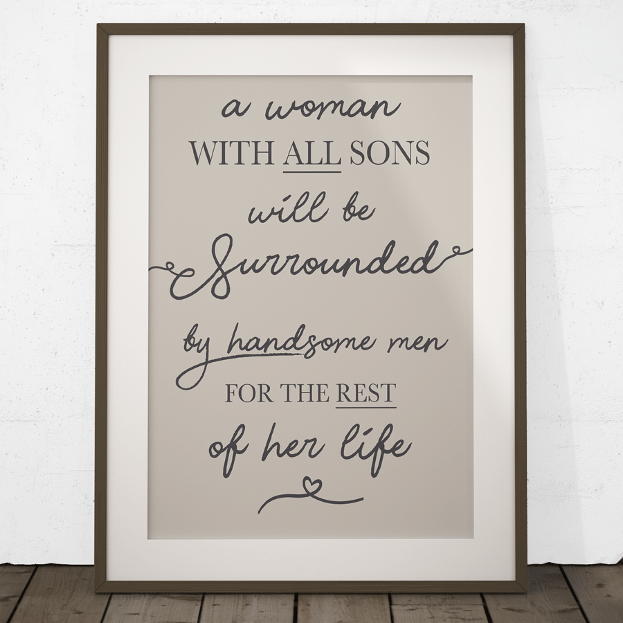 All Sons Quote Keepsake