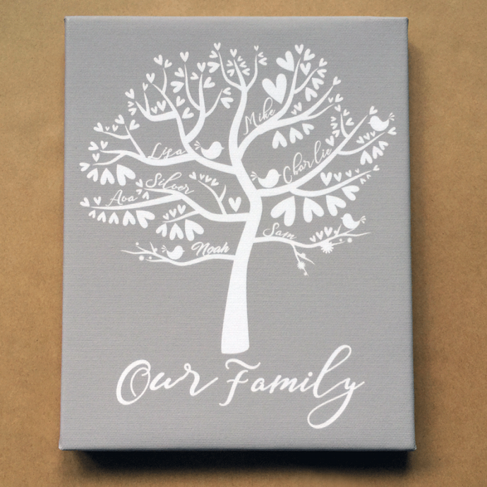 Bespoke Family Tree Keepsake