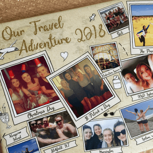 Personalised Travelling Keepsake Holiday