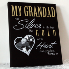 Load image into Gallery viewer, A Nan Has Silver In Her Hair And Gold In Her Heart