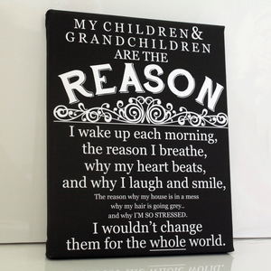 Grandchildren Quote Keepsake