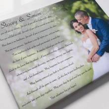 Load image into Gallery viewer, Personalised Wedding First Dance Song Keepsake Anniversary Gift
