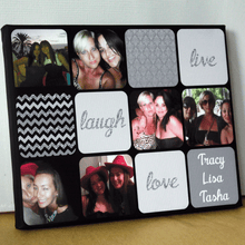 Load image into Gallery viewer, Personalised Collage Mothers Day Gift