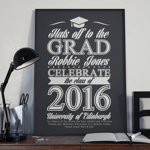 Personalised Graduation Gifts