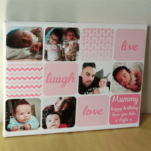 Personalised Collage Mothers Day Gift
