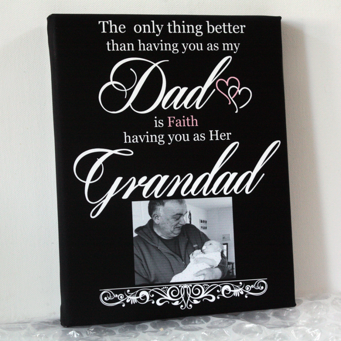Having You As My Grandad Gift