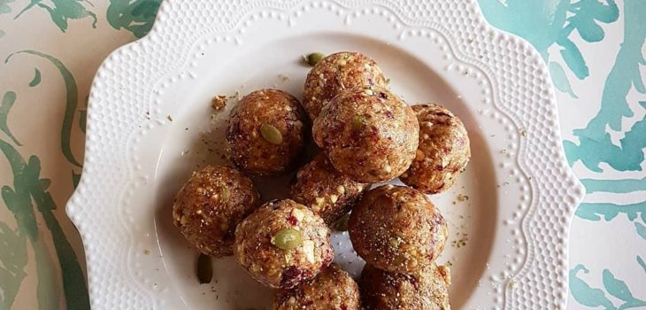 Almond Gold Bliss Balls