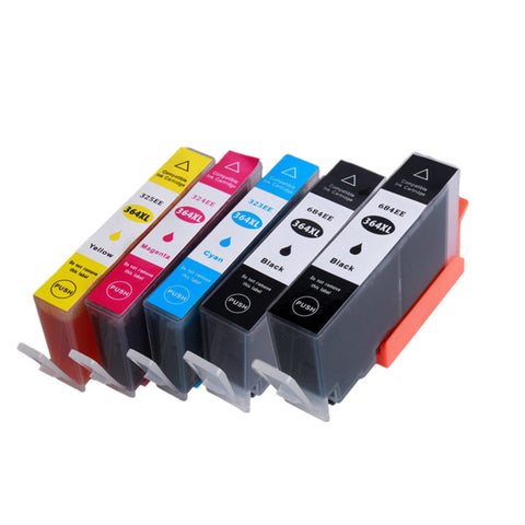HP364XL Compatible FOR HP Photosmart 5510 5511 5512 5514 5515 5520 5522 5524 6510 6520 6512 6515 75 - CTC Printer