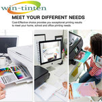 Win-TinTen 5 Pack Replacement for Canon PGI220 XL CLI221 XL Compatible Ink Cartridge for Canon Pixma iP3600, iP4600, iP4700, MP560, MP620, MP620B, MP640, MP640R, MP980, MP990, MX860, and The MX870 - CTC Printer