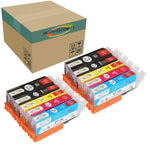 Win-TinTen 10 Pack Replacement for Canon PGI270 XL CLI-271 XL Compatible Ink Cartridge for Canon PGI270 XL CLI-271 XL Canon Pixma MG5720 MG5721 MG5722 MG6820 MG6821 MG6822 TS5020 TS6020 TS8020 TS902 - CTC Printer