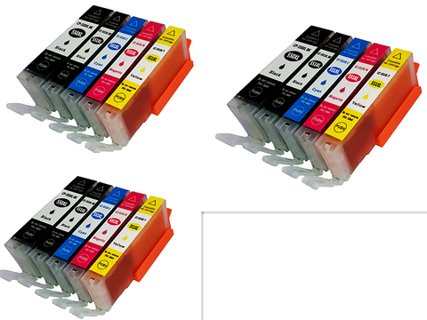 CTC Ink cartridges PGI550 for Canon PIXMA MG5420 5422 5520 5522 6320 6420 7120 722 922 iP7220 iP8720 - CTC Printer