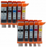 CTC Ink Cartridges PGI 250XL for Canon Pixma 5420 5422 5500 5520 5522 5620 5622 6320 6420 6620 7120 - CTC Printer