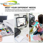 Win-TinTen High Yield 5 Pack Compatible Ink Cartridges HP 920 XL Compatible with HP Officejet 6000 6500 7000 7500 6500A 7500A Printer - CTC Printer