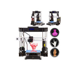 2019 Cheap W5/i3 High Precision Reprap Prusa i3 DIY 3D Printer Kit With LCD Free Resume Power Failure Printing - CTC Printer