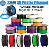 CTC 3D Printer Filament ABS 1KG 1.75mm Plastic Rubber Consumables Material For 3D Printing Materials - CTC Printer