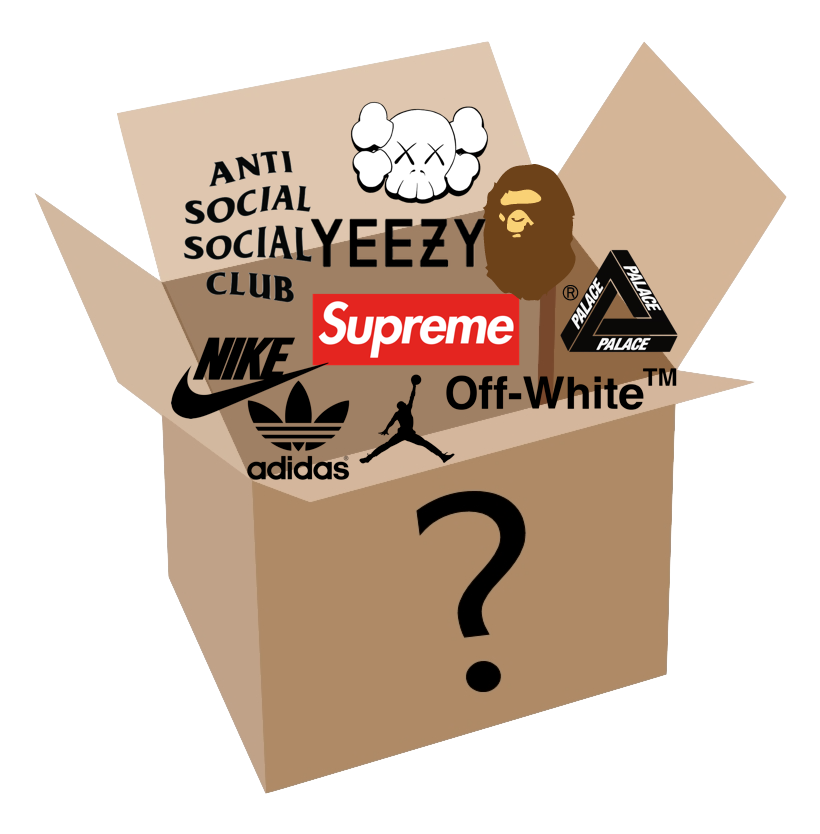 3500 AED Hypebeast Mysterybox