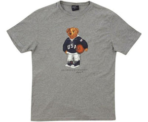 Vintage Polo Bear Basketball Tee