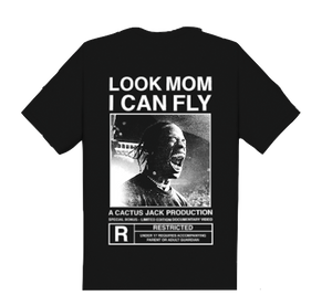 Travis Scott Look Mom I Can Fly Tee