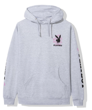 Anti Social Social Club Playboy Grey Hoodie