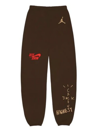 CACTUS JACK JORDAN HIGHEST SWEATPANT BROWN