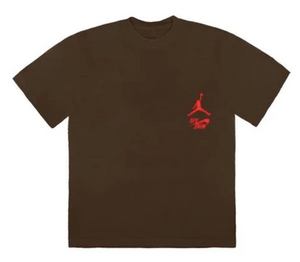 CACTUS JACK JORDAN HIGHEST TEE BROWN