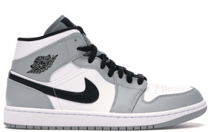 Jordan 1 Mid Light Smoke Grey