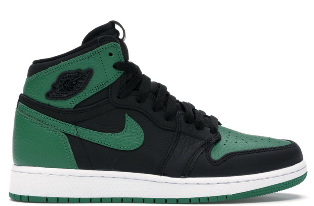 Jordan 1 Retro High Pine Green Black (GS)