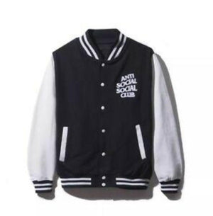 Anti Social Social Club Dropout Letterman Jacket