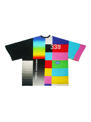 FANTASY TECH PRINT SHORT-SLEEVE T-SHIRT