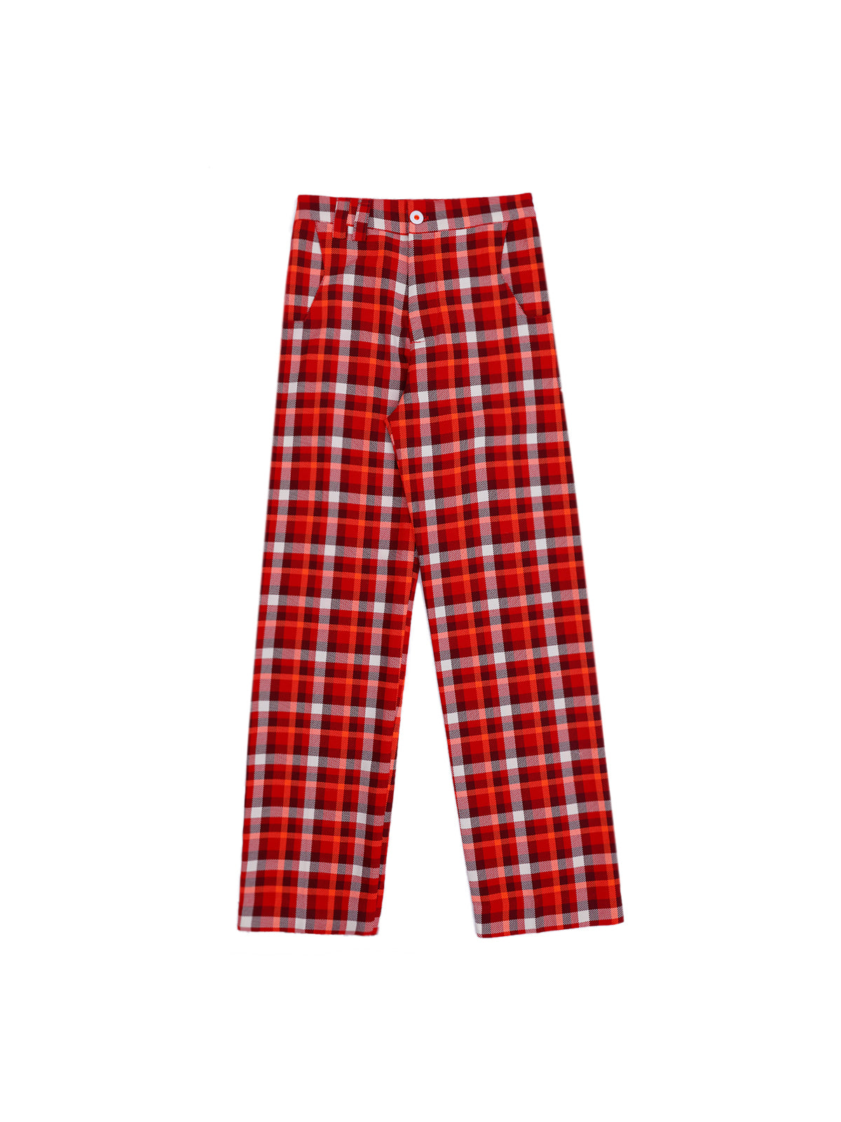 Granddad's Plaid Suit Trouser