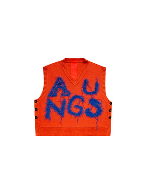 ANGUS V-NECK KNIT VEST