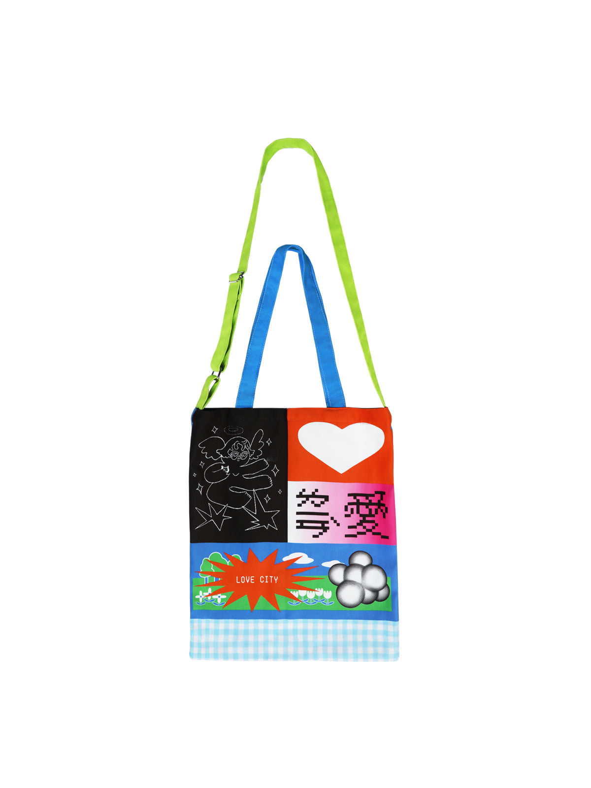 "[ SWING PROJECT ] ""LOVE YOU FOREVER"" MULITIUSE TOTE BAG"