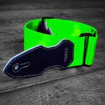 Cliffhanger Acid Green Guitar Strap