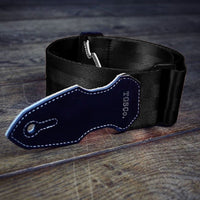 Cliffhanger Bungee Black Guitar Strap