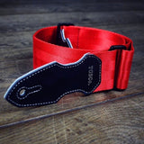 Cliffhanger Rockhammer Red Guitar Strap