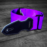 Cliffhanger Violet Purple Guitar Strap