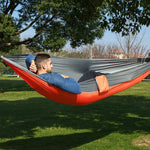 1 Person Parachute Hammock Portable Army Survival Hammocks