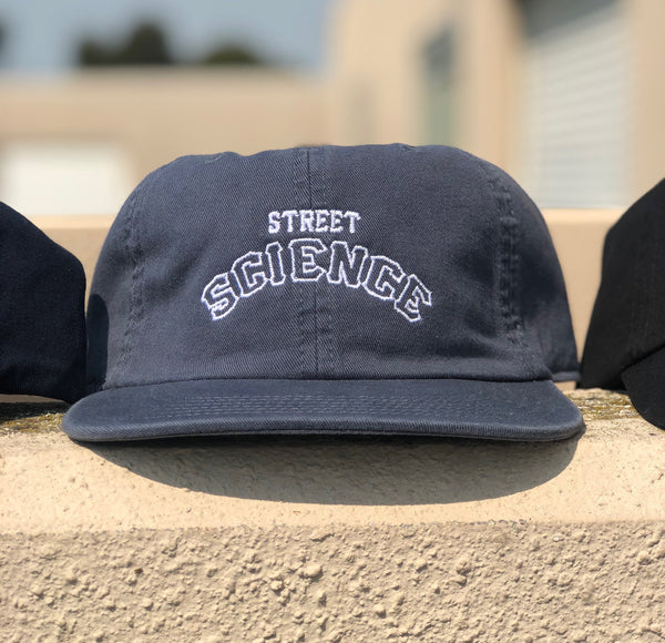 Street Science Navy 6 Panel Hat