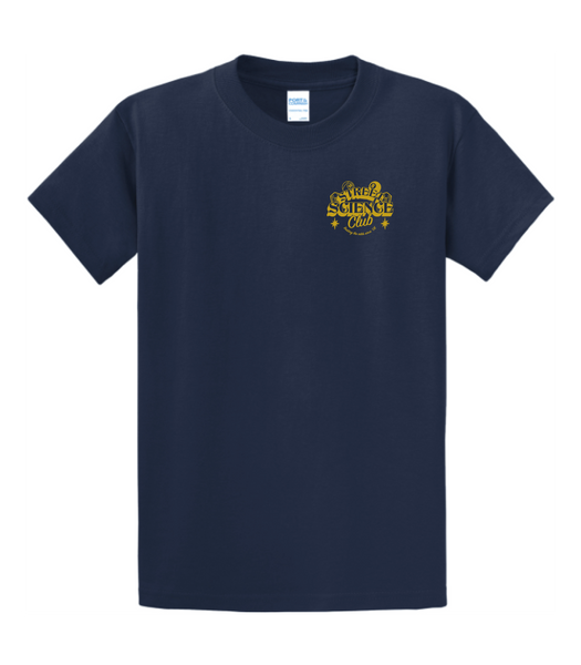 Street Science Club T-Shirt Navy