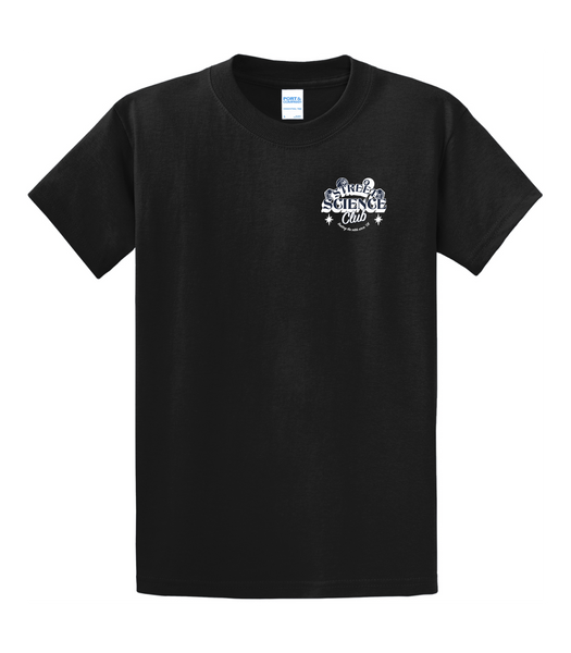 Street Science Club T-Shirt Black