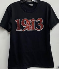 Load image into Gallery viewer, Delta 1913 Bling Fitted T-shirt