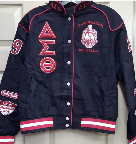 Delta Sigma Theta Racing Jacket